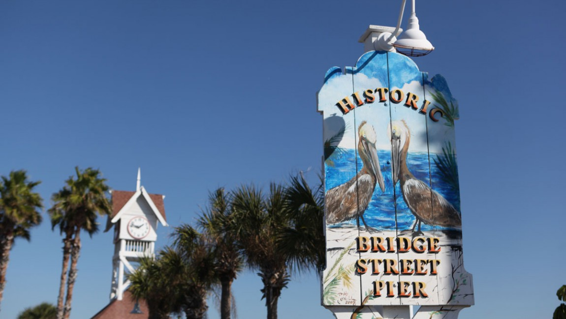 Historic Bridge Street in Bradenton Beach